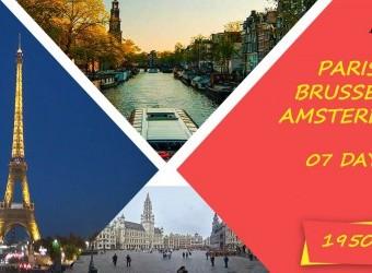 باريس و بروكسل و امستردام